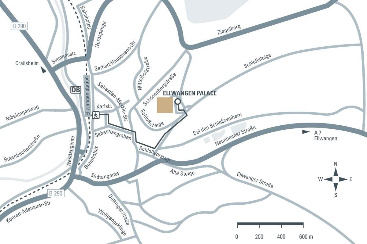 journey description: Ellwangen Palace, illustration: Staatliche Schlösser und Gärten Baden-Württemberg, JUNG:Kommunikation