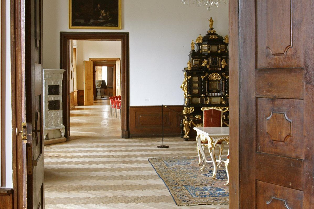 Enfilade in Schloss ob Ellwangen