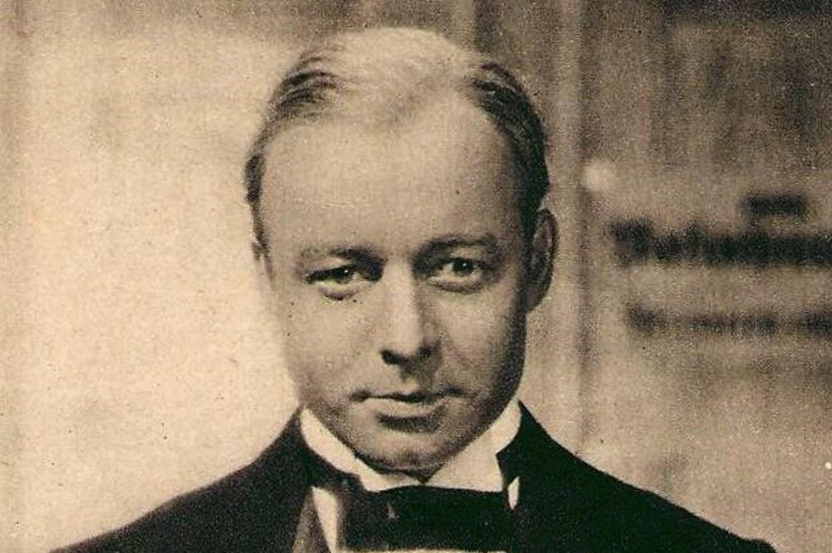 Der Schauspieler Heinz Rühmann auf einer Postkarte von 1937