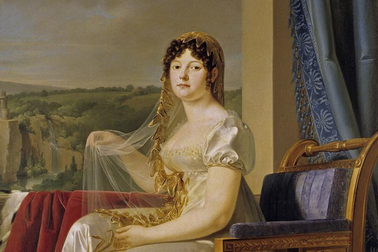 Bildnis der Königin Katharina von Westphalen von Johann Baptist Seele; Foto: Landesmedienzentrum Baden-Württemberg, Arnim Weischer
