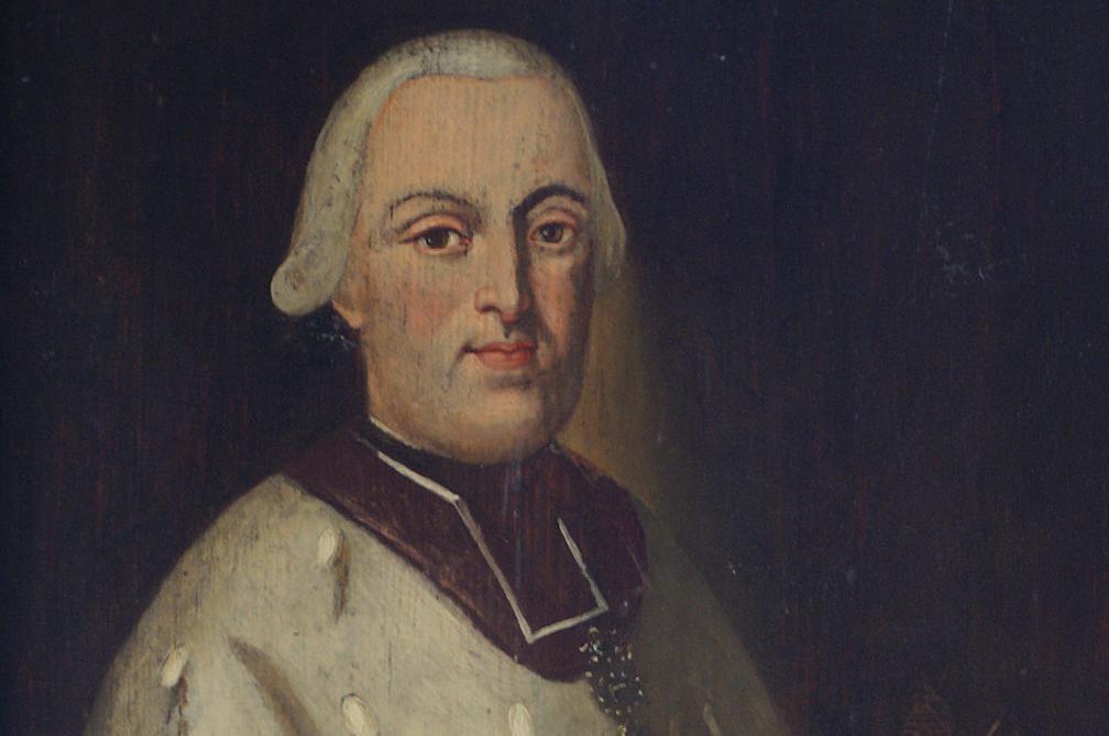 Bildnis von Fürstpropst Clemens Wenzeslaus von Sachsen; Foto: Tourist-Information Ellwangen