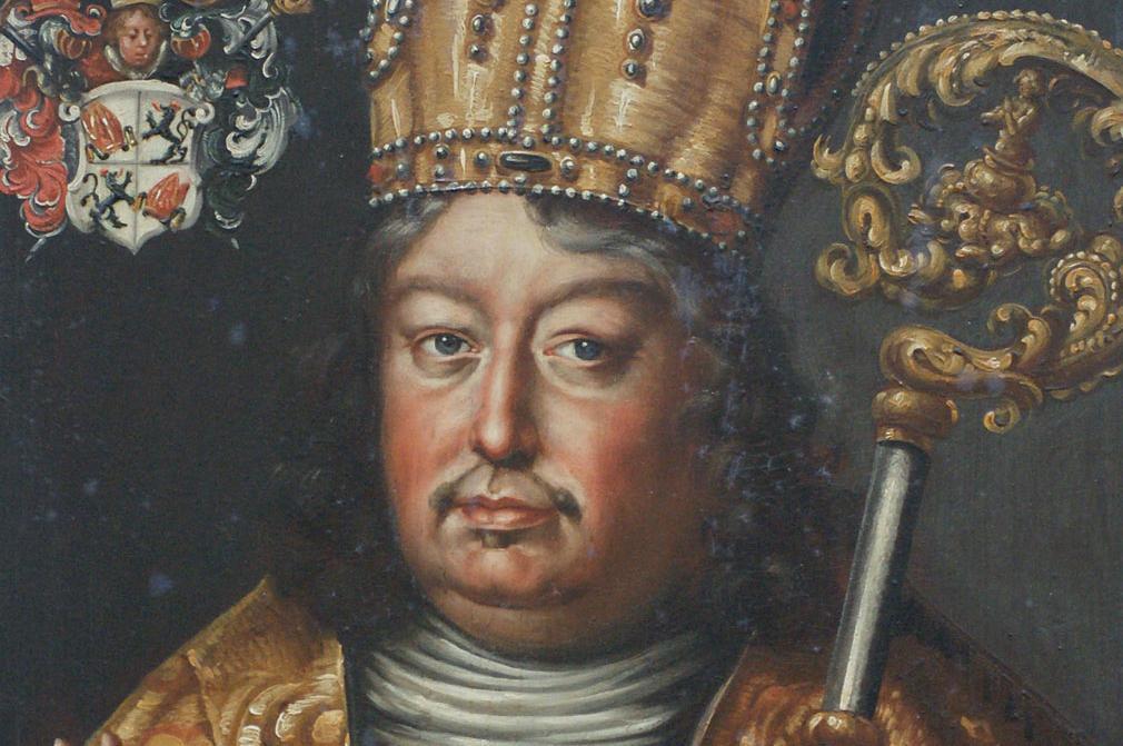 Bildnis von Fürstpropst Johann Christoph Adelmann