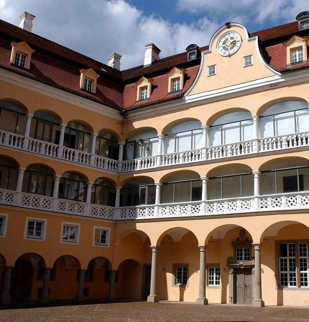 Ellwangen Palace, exterior view