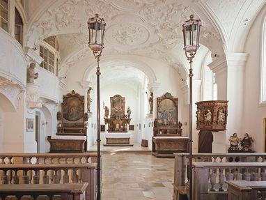 Schloss ob Ellwangen, Kirche