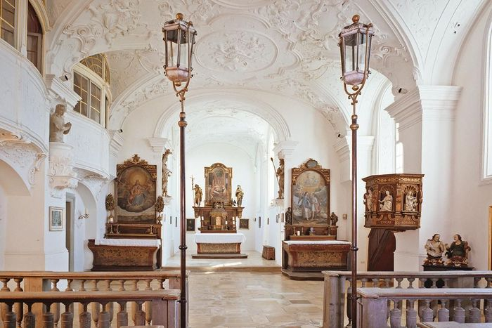Schlosskapelle von Schloss ob Ellwangen