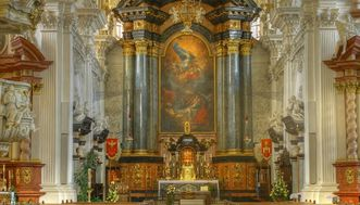 Chor der Wallfahrtskirche auf dem Schönenberg