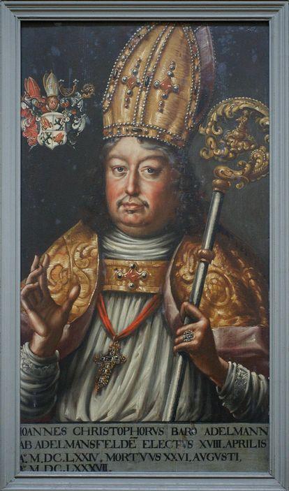 Bildnis Fürstpropst Johann Christoph Adelmann von Adelmannsfelden