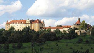 Château d'Ellwangen; l'image: Staatliche Schlösser und Gärten Baden-Württemberg, Auteur inconnu