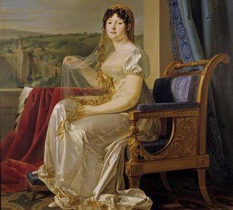 Bildnis Königin Katharina von Westphalen um 1807 von Johann Baptist Seele