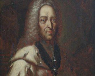 Porträt des Fürstpropsten Franz Ludwig von der Pfalz-Neuburg