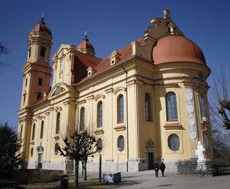 Wallfahrtskirche auf dem Schönenberg; Foto: Tourist-Information Ellwangen
