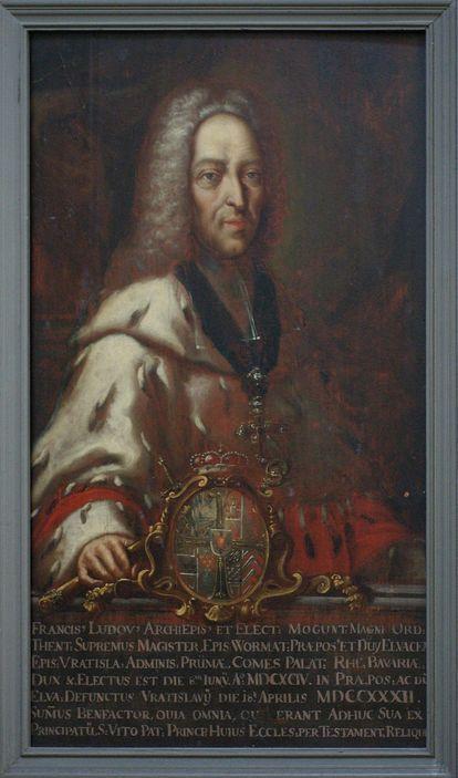 Bildnis Fürstpropst Franz-Ludwig von Pfalz-Neuburg