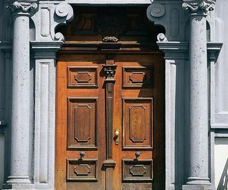 Portal des Landgerichts Ellwangen; Foto: Tourist-Information Ellwangen