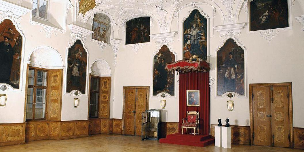 Thronsaal von Schloss ob Ellwangen