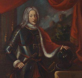 Porträt des Fürstpropstes Franz Ludwig von Pfalz-Neuburg